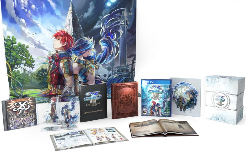 Ys VIII: Lacrimosa of Dana - Limited Edition