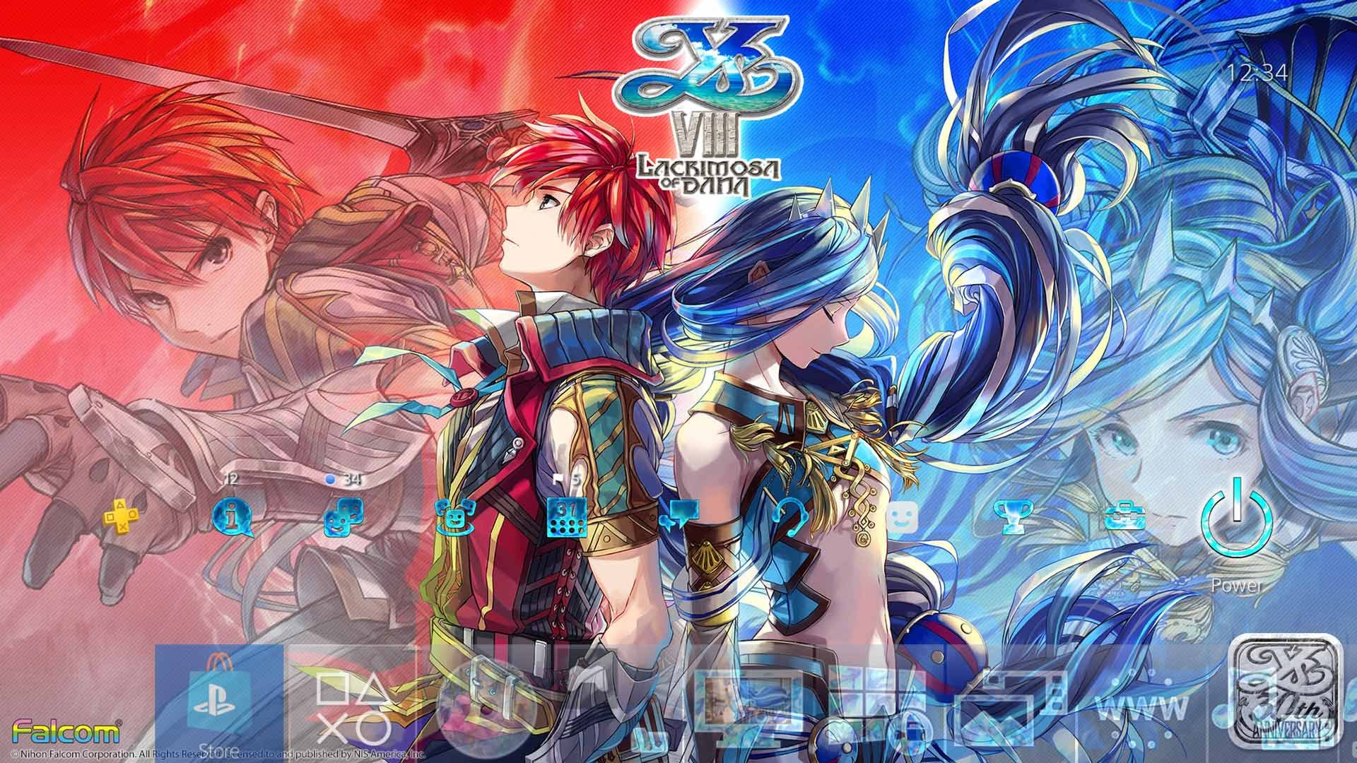 Ys Viii Lacrimosa Of Dana Ps4 Theme Game Preorders