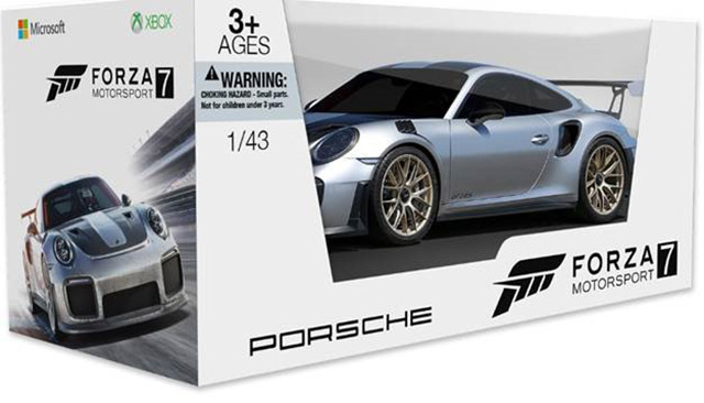 Forza Motorsport 7 - 2018 Porche 911 GT2 RS Scale Model