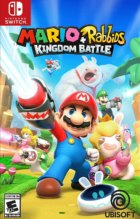 Mario + Rabbids Kingdom Battle Box Art