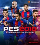 Pro Evolution Soccer 2018 Box Art