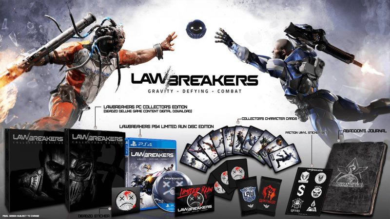 LawBreakers - Collector's Edition