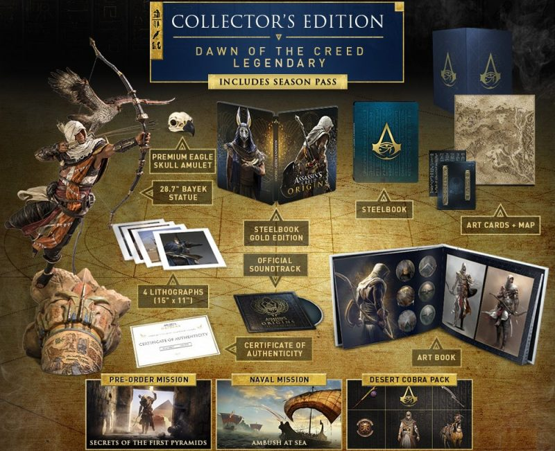 Assassin's Creed Origins - Dawn Of The Creed Legendary Edition