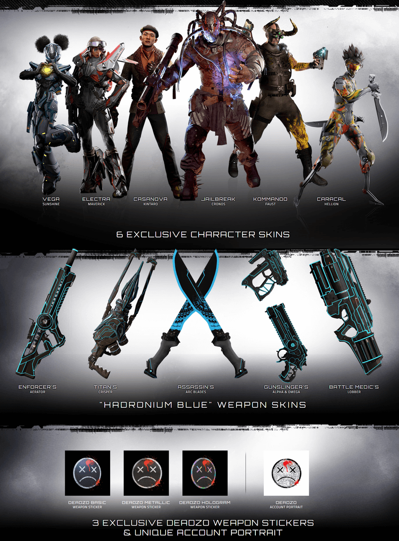 LawBreakers - Deadzo Deluxe Edition