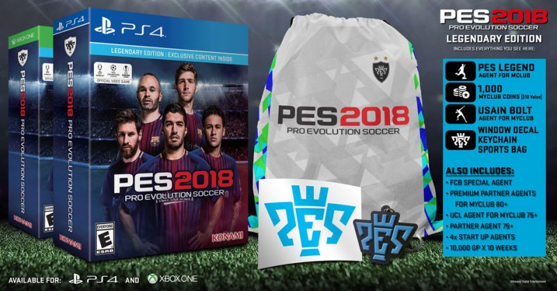 Pro Evolution Soccer 2018 - Legendary Edition