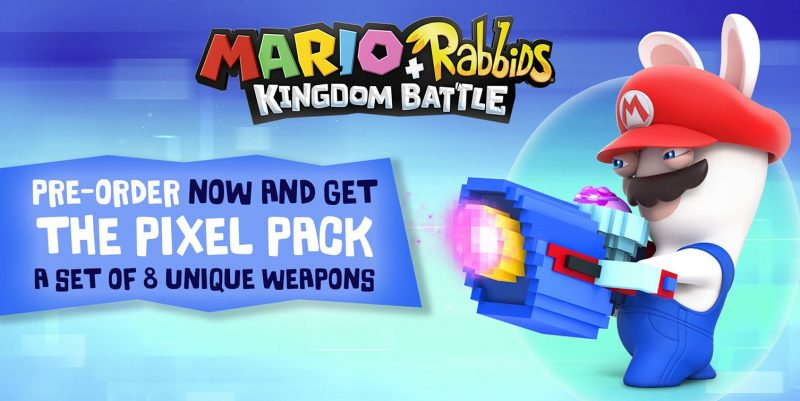Mario + Rabbids Kingdom Battle - Pixel Pack