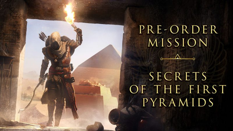 Assassin's Creed Origins - Secrets of the Pyramids