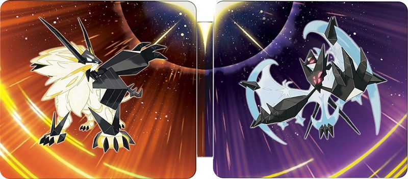 Pokémon Ultra Sun and Ultra Moon - Dual Steelbook Edition