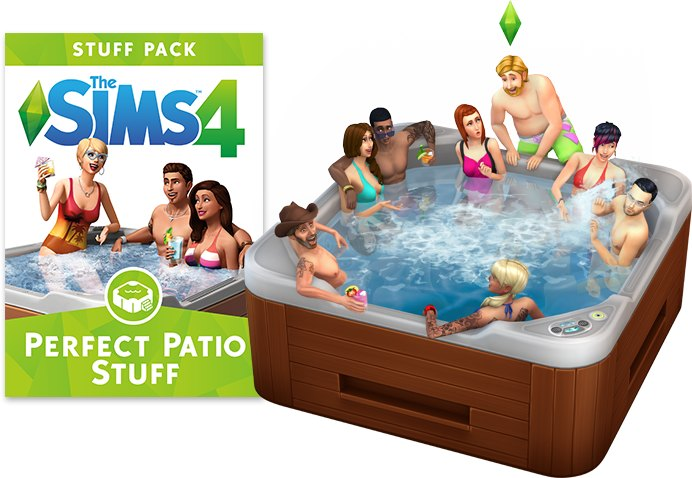 The Sims 4 - Perfect Patio Stuff
