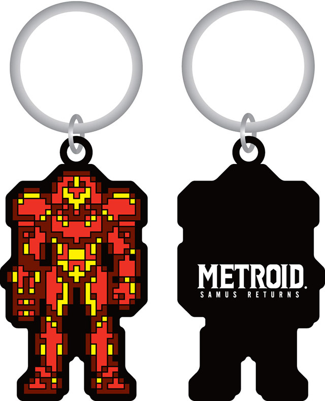 Metroid: Samus Returns - Samus Keychain
