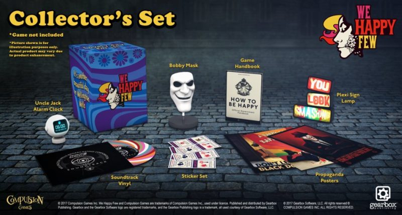 We Happy Few - Collector's Set
