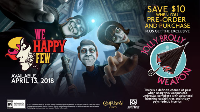 We Happy Few - Jolly Brolly