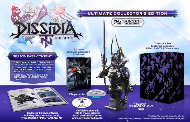 Dissidia Final Fantasy NT - Ultimate Collector's Edition