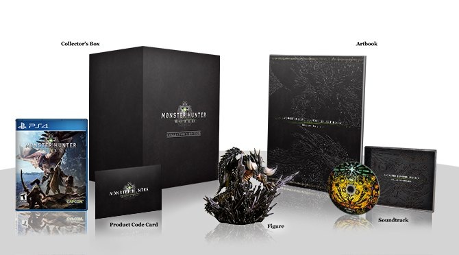 Monster Hunter World - Collector's Edition