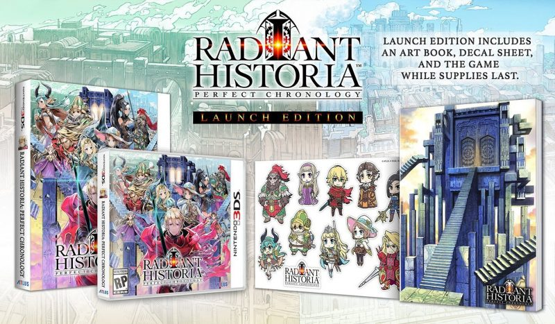 Radiant Historia: Perfect Chronology - Launch Edition