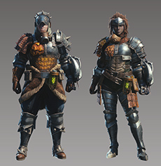 Monster Hunter World - Origin Armor Set