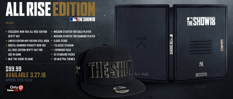 MLB The Show 18 - All Rise Edition