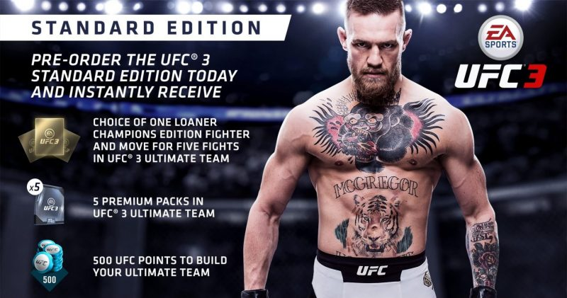EA Sports UFC 3 - Standard Edition