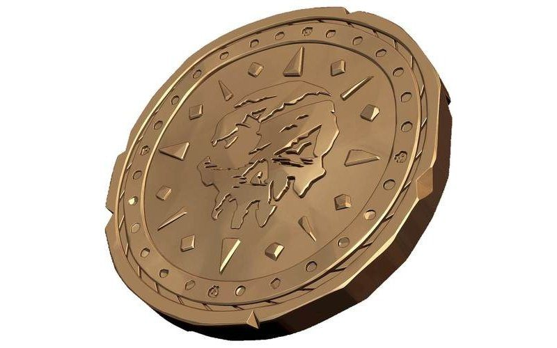Sea of Thieves - Metal Coin