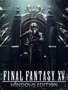 Final Fantasy XV Royal Edition and Windows Edition Box Art