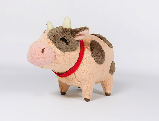 Harvest Moon: Light of Hope - Chocolate Cow Plush