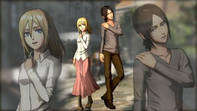 Attack on Titan 2 - Christa and Ymir