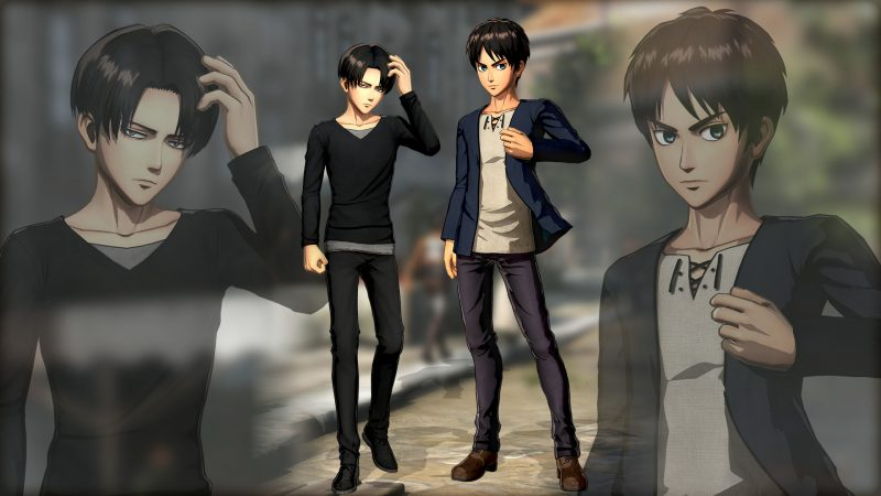 Attack on Titan 2 - Eren and Levi