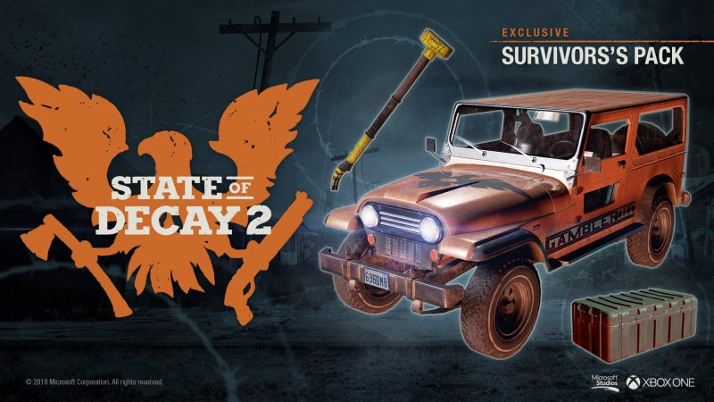 State of Decay 2 - Survivor's Pack