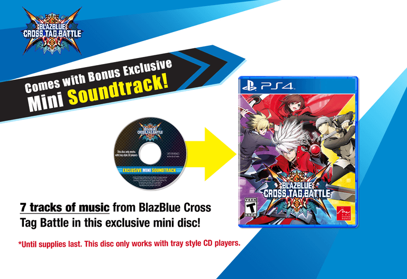 Blazblue: Cross Tag Battle - Mini-Soundtrack
