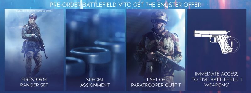 Battlefield V - Enlister Offer