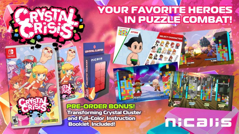 Crystal Crisis - Launch Edition