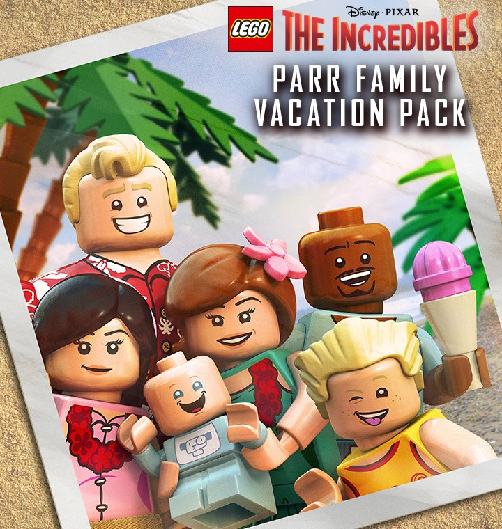 LEGO The Incredibles - Parr Family Vacation Pack