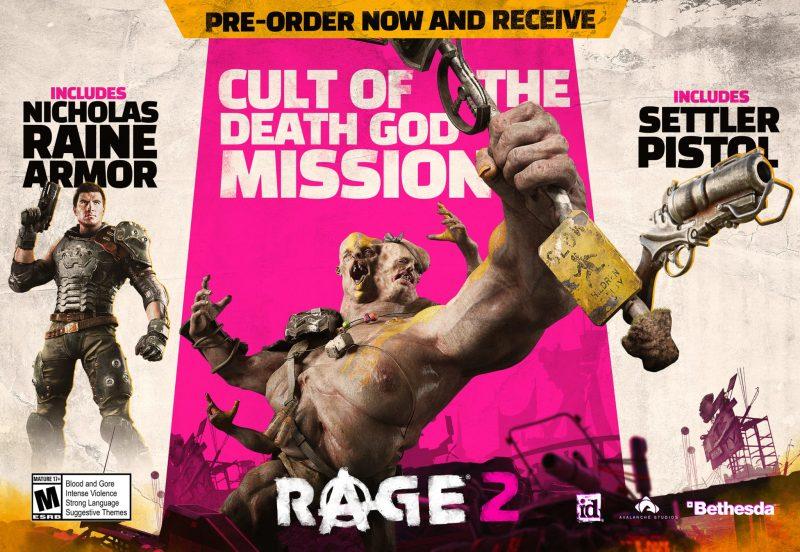 RAGE 2 - Pre-Order Bonuses