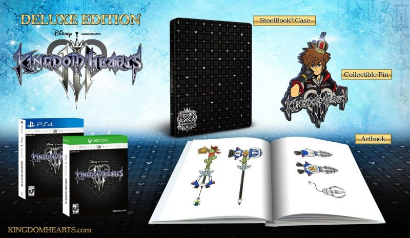 Kingdom Hearts III - Deluxe Edition