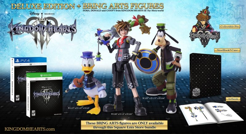 Kingdom Hearts III - Deluxe Edition & Bring Arts Bundle