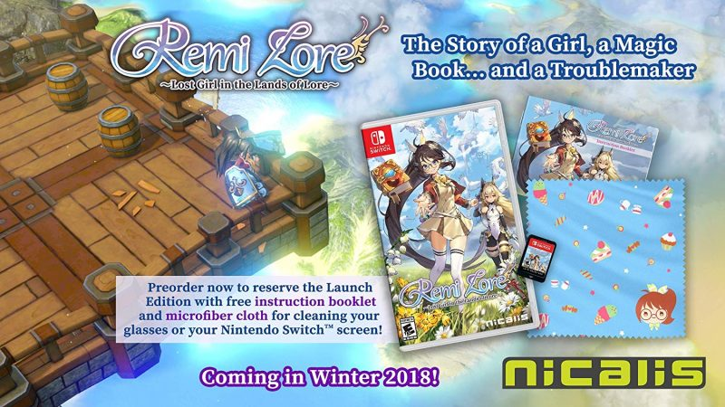 RemiLore: Lost Girl in the Lands of Lore - Launch Edition