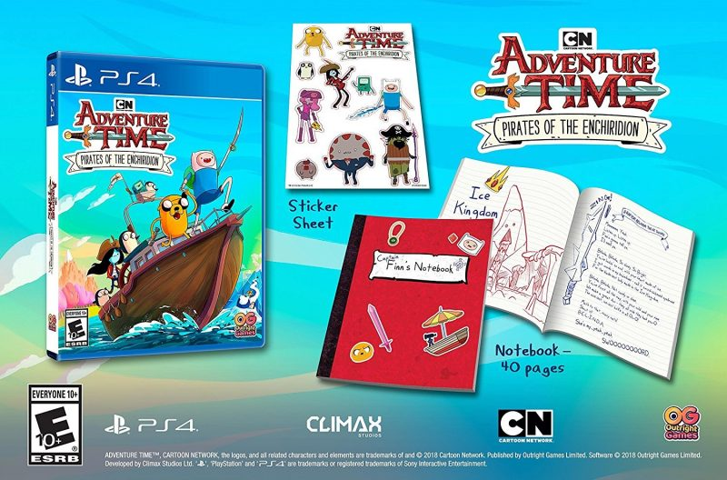 Adventure Time: Pirates Of The Enchiridion - Notebook & Sticker Sheet