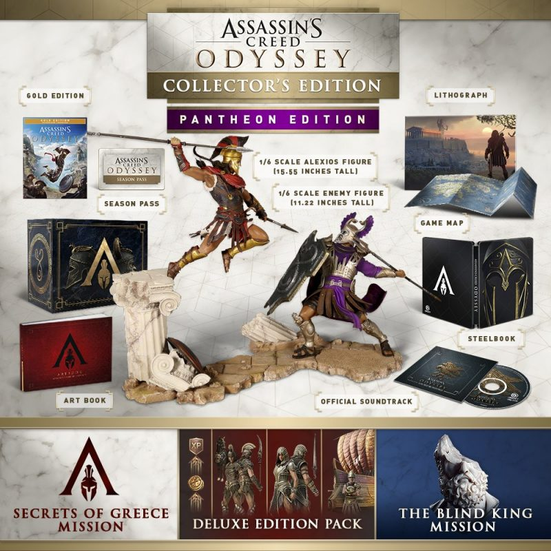Assassin's Creed Odyssey - Pantheon Collector Edition