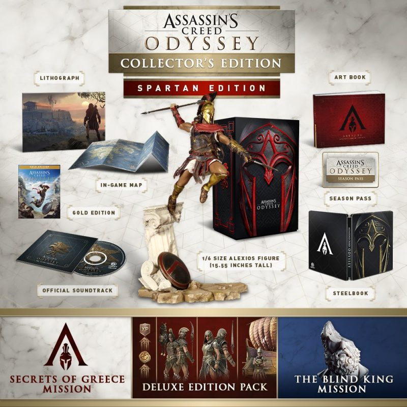 Assassin's Creed Odyssey - Spartan Collector Edition