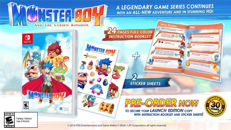 Monster Boy and the Cursed Kingdom - Launch Edition