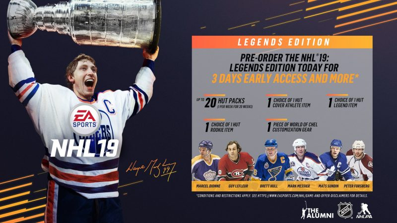 NHL 19 - Legend Edition