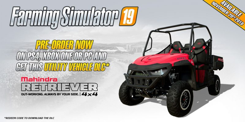 Farming Simulator 19 - Mahindra Retriever