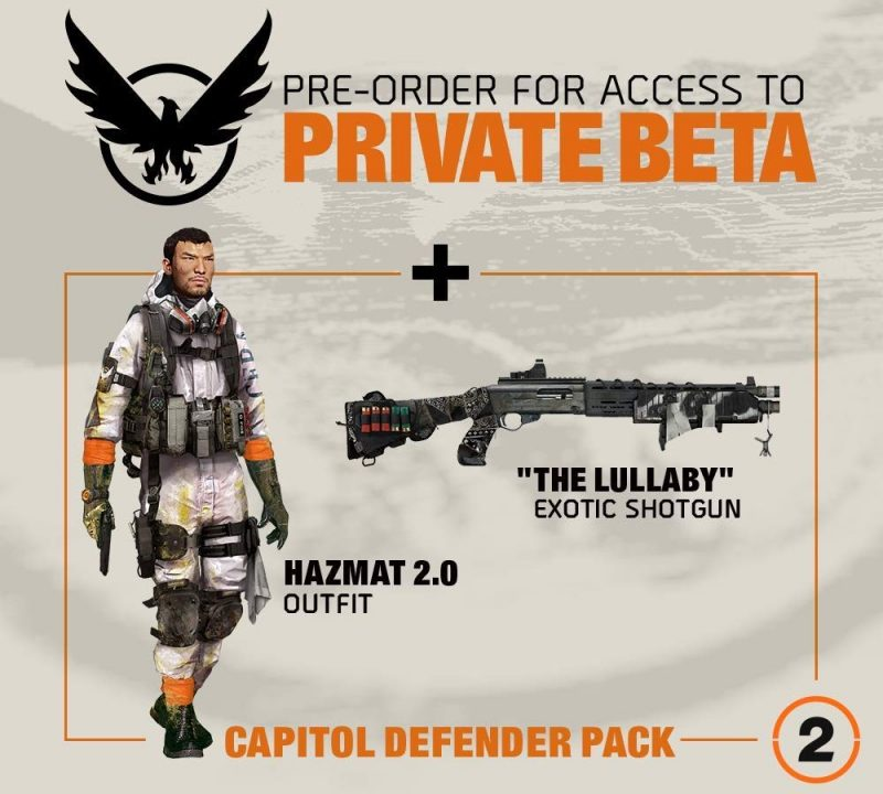 The Division 2 - Capitol Defender Pack