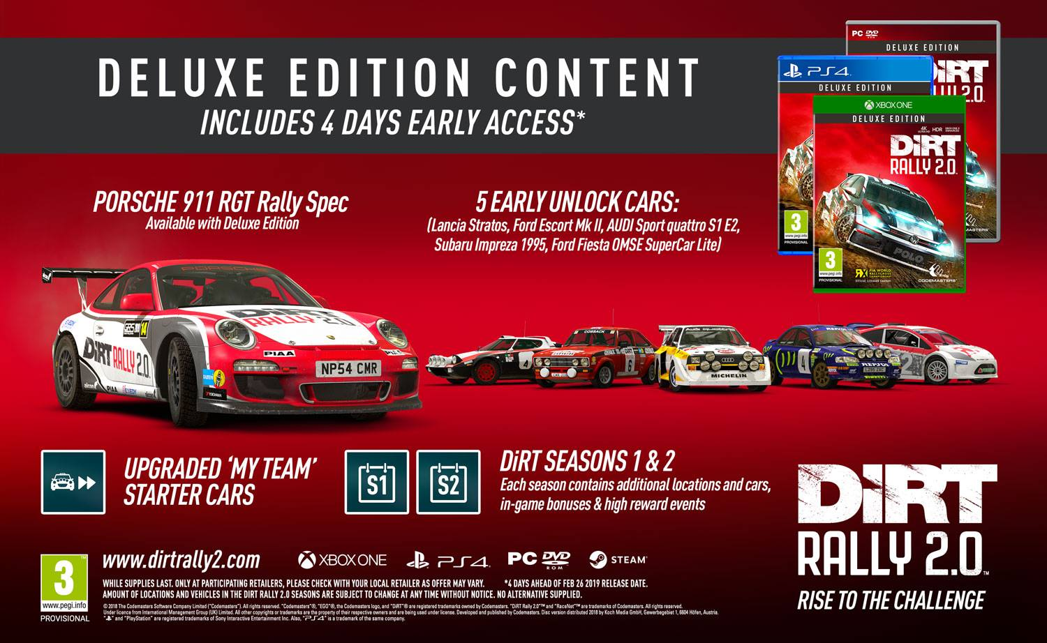 Early Ford Store >> DiRT Rally 2.0 | Game Preorders
