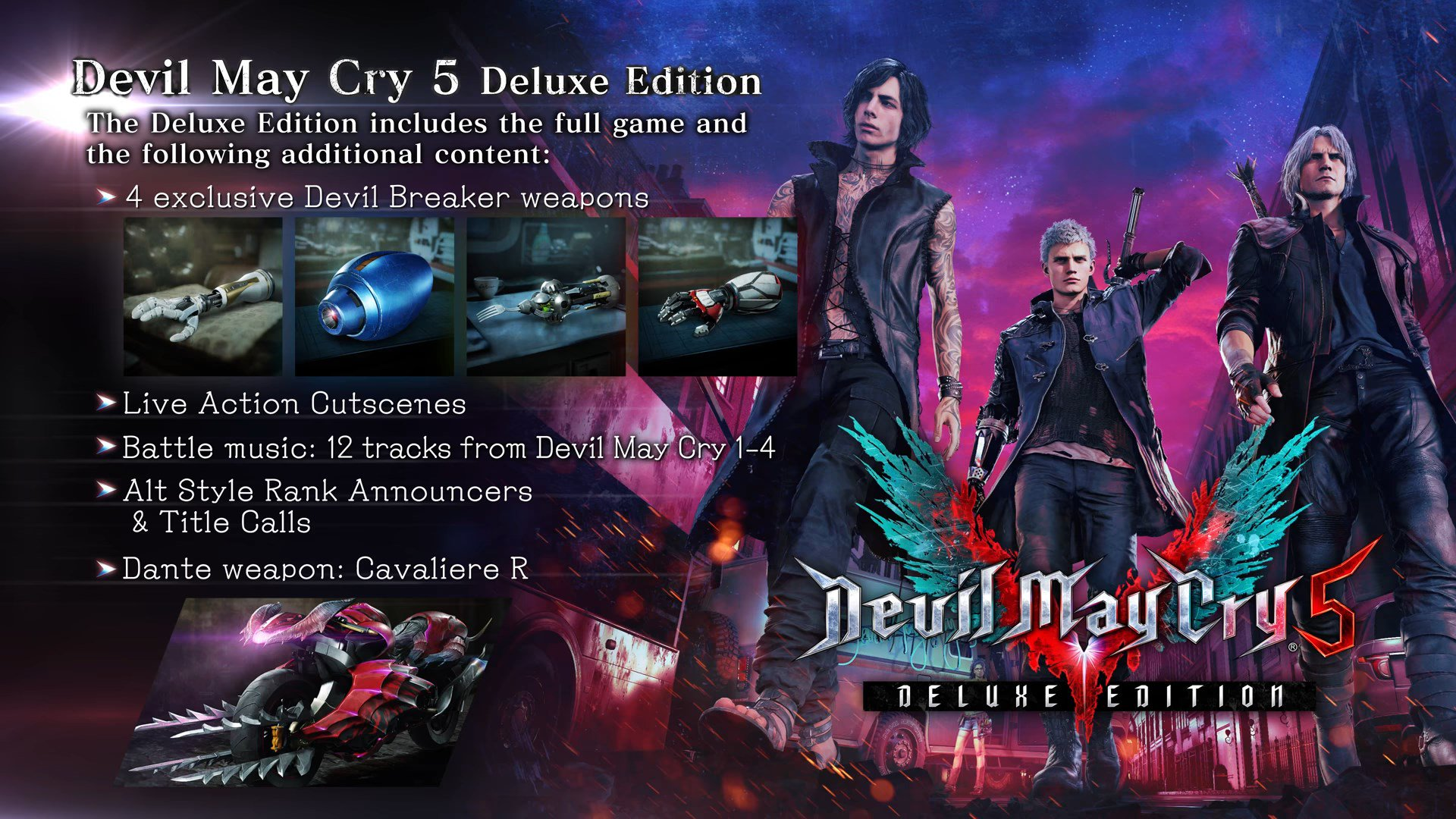 Devil May Cry 5 Game Preorders