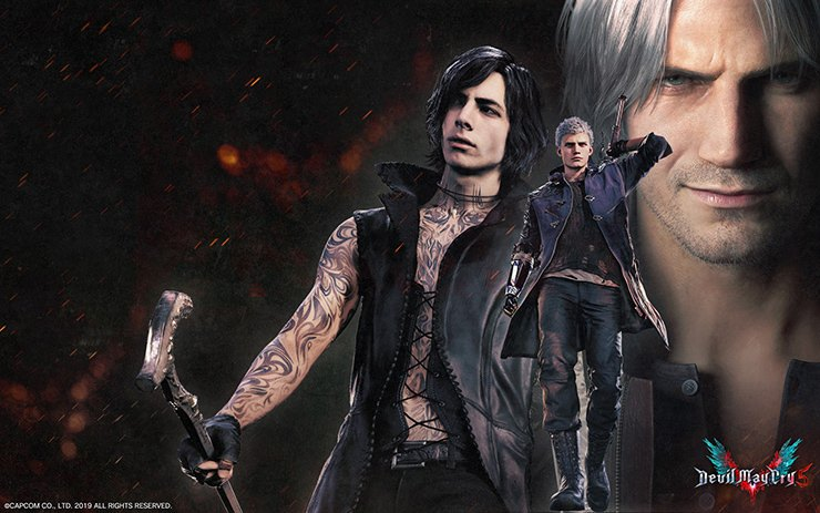 Devil May Cry 5 Wallpaper Game Preorders