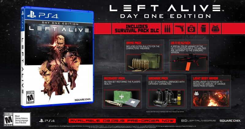 Left Alive - PS4 Day One Edition