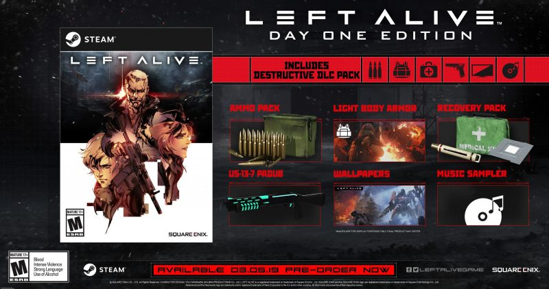 Left Alive - Steam Day One Edition