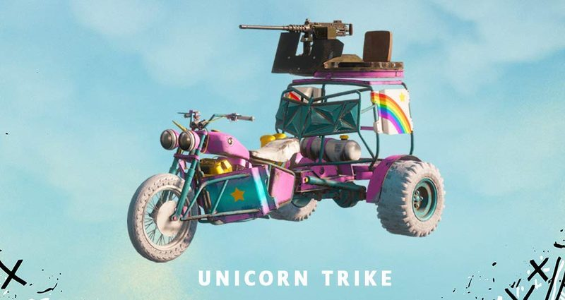Far Cry: New Dawn - Unicorn Trike