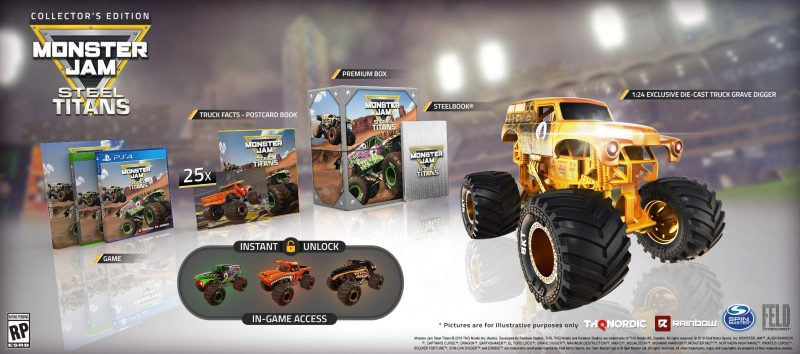 Monster Jam Steel Titans - Collector's Edition